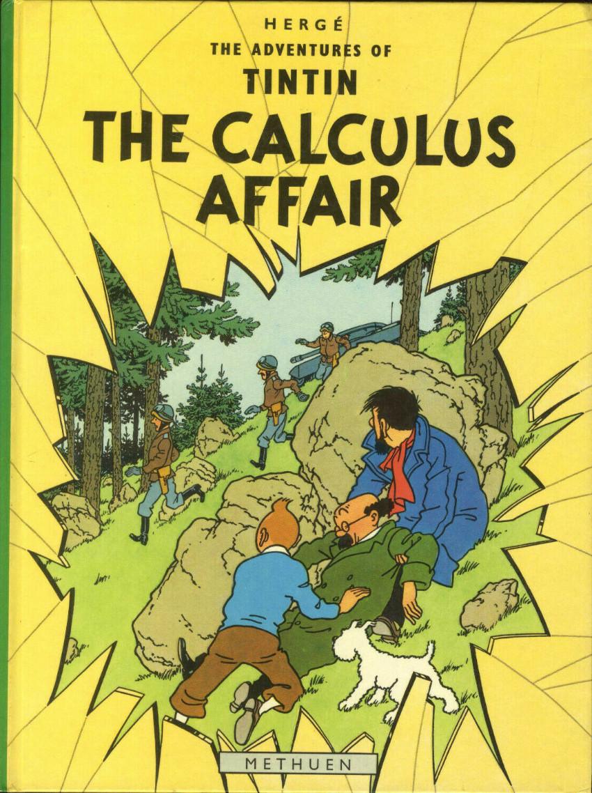 Couverture de Tintin (The Adventures of) -18- The Calculus Affair