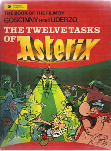 Couverture de Astérix (en anglais) -C1- The twelve tasks of Asterix