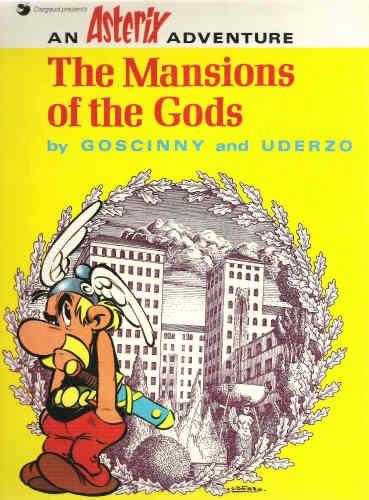 Couverture de Astérix (en anglais) -16- The Mansions of the Gods