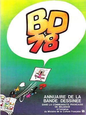 Couverture de (DOC) Études et essais divers - BD 78 - Annuaire de la bande dessinée