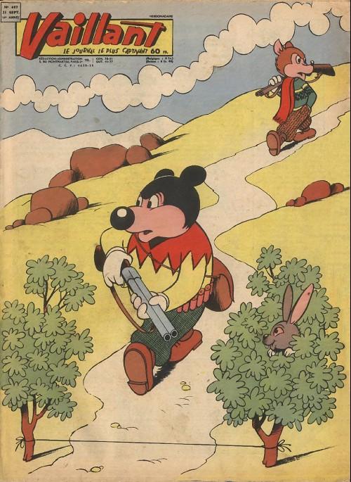 Couverture de Vaillant (le journal le plus captivant) -697- Vaillant
