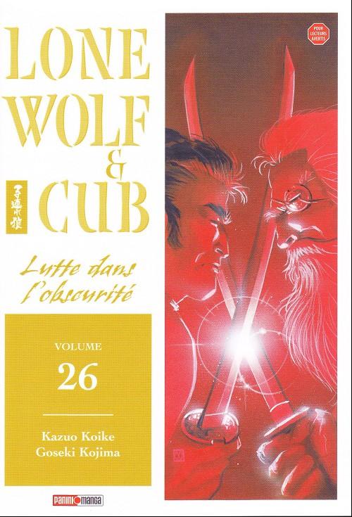 Couverture de Lone Wolf & Cub -26- Lutte dans l'obscurité