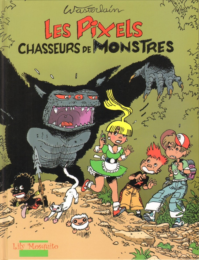 Couverture de Les pixels -1- Chasseurs de monstres