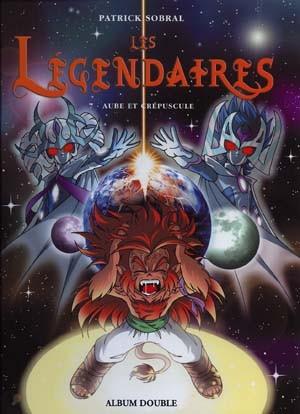 Couverture de Les légendaires -FL4- Aube et crépuscule / Griffes et plumes