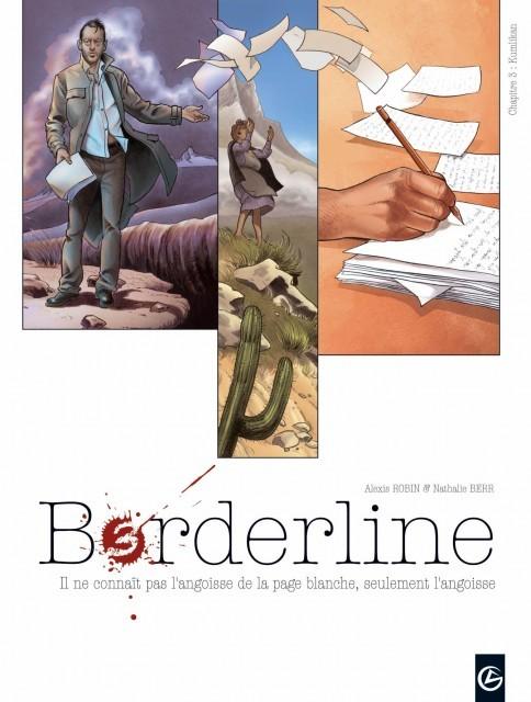 Couverture de Borderline -3- Kumlikan