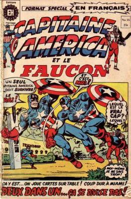Couverture de Capitaine America (Éditions Héritage) -16- Deux dans un... Ça se divise pas!