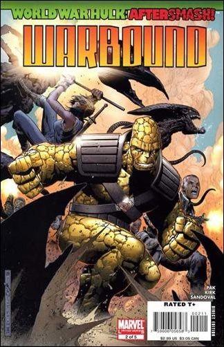 Couverture de World War Hulk Aftersmash: Warbound (2008) -2- Issue 2