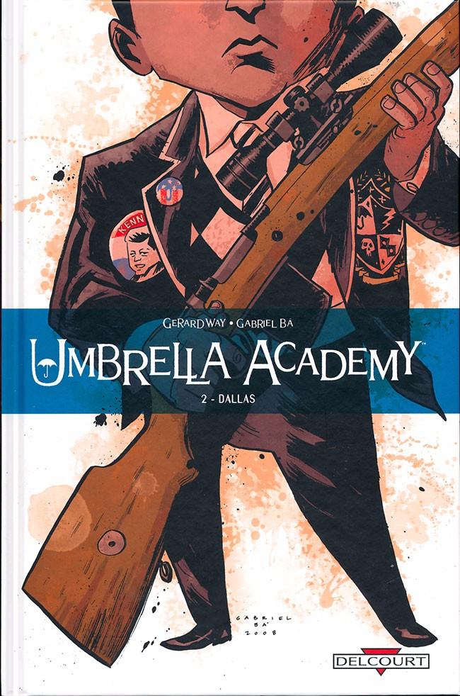 Couverture de Umbrella Academy -2- Dallas