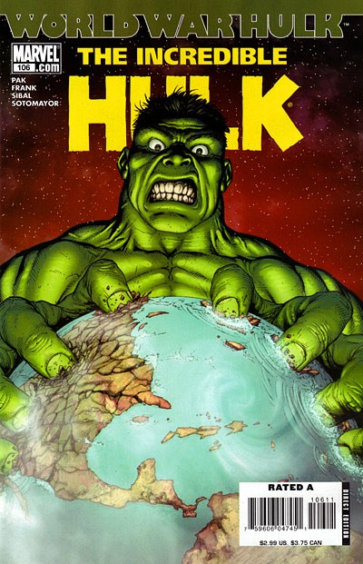 Couverture de Incredible Hulk (The) (Marvel comics - 2000) -106- Warbound