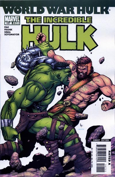 Couverture de Incredible Hulk (The) (Marvel comics - 2000) -107- Warbound