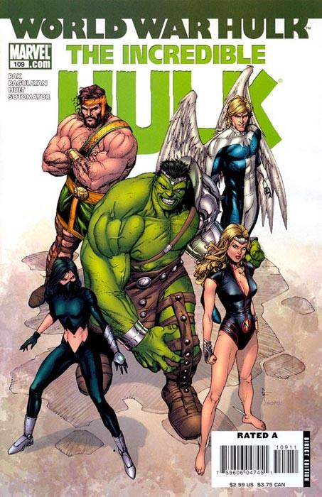 Couverture de Incredible Hulk (The) (Marvel comics - 2000) -109- Warbound