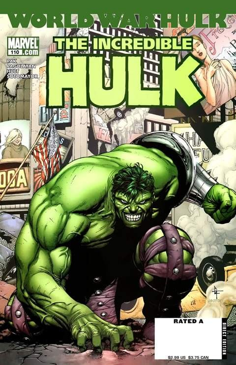 Couverture de Incredible Hulk (The) (Marvel comics - 2000) -110- Warbound