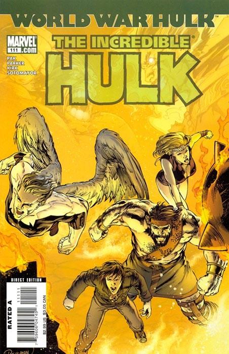 Couverture de Incredible Hulk (The) (Marvel comics - 2000) -111- Warbound