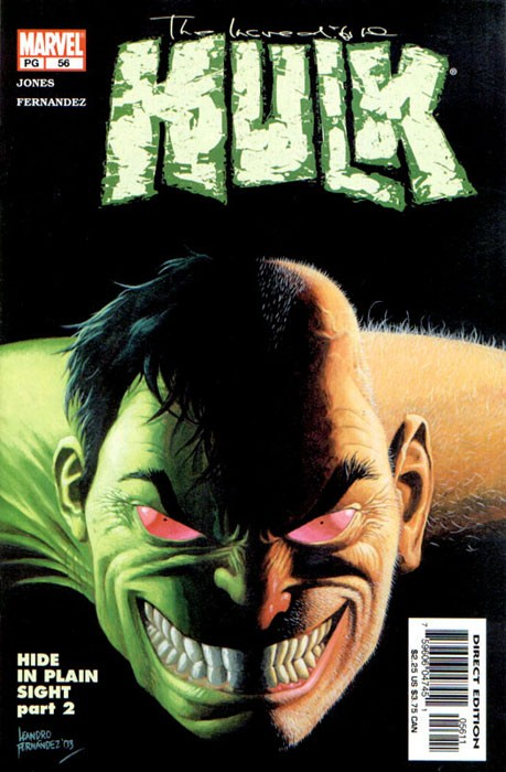 Couverture de Incredible Hulk (The) (Marvel comics - 2000) -56- Hide in plain sight: inside out