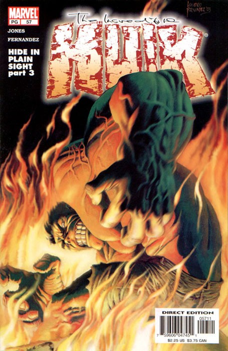 Couverture de Incredible Hulk (The) (Marvel comics - 2000) -57- Hide in plain sight: a mind of his own