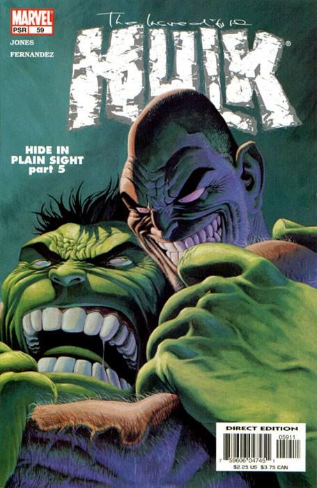 Couverture de Incredible Hulk (The) (Marvel comics - 2000) -59- Hide in plain sight
