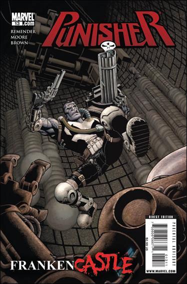 Couverture de Punisher Vol.08 (Marvel comics - 2009) (The) -13- Frankencastle part 3