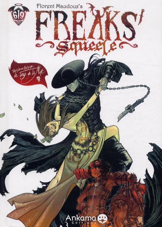 Couverture de Freaks' Squeele -3- Le Tango de la Mort