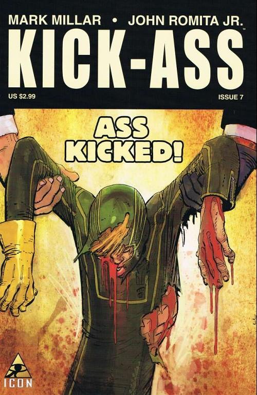 Couverture de Kick-Ass (2008) -7- Kick-ass #7