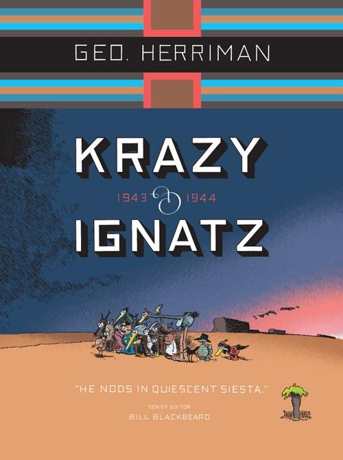 Couverture de Krazy & Ignatz (2002) -INT13- 1943-1944: He Nods in Quiescent Siesta