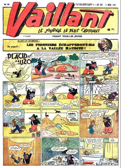 Couverture de Vaillant (le journal le plus captivant) -95- Vaillant