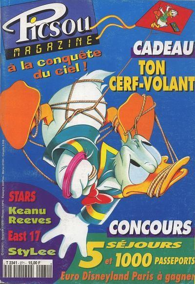 Couverture de Picsou Magazine -271- Picsou Magazine N°271