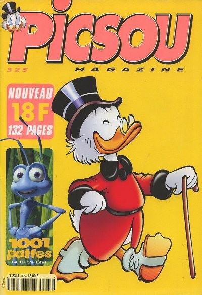 Couverture de Picsou Magazine -325- Picsou Magazine N°325