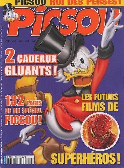 Couverture de Picsou Magazine -457- Picsou Magazine N°457