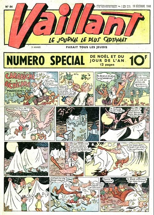 Couverture de Vaillant (le journal le plus captivant) -84- Vaillant