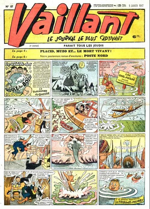 Couverture de Vaillant (le journal le plus captivant) -87- Vaillant