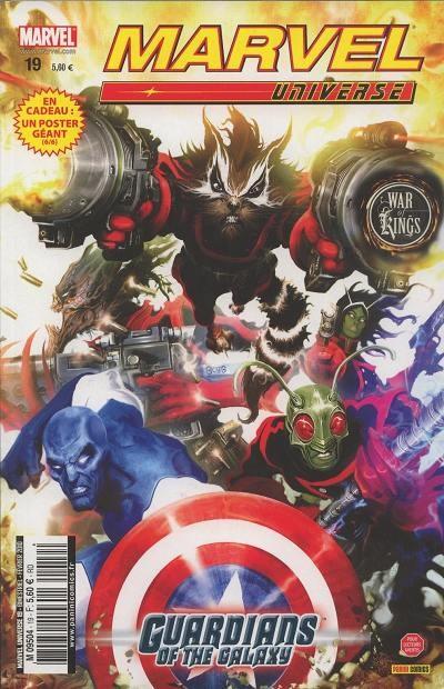 Couverture de Marvel Universe (Panini - 2007) -19- War of Kings (2/7)