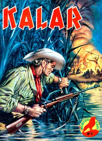 Couverture de Kalar -2- Kalar et le braconnier