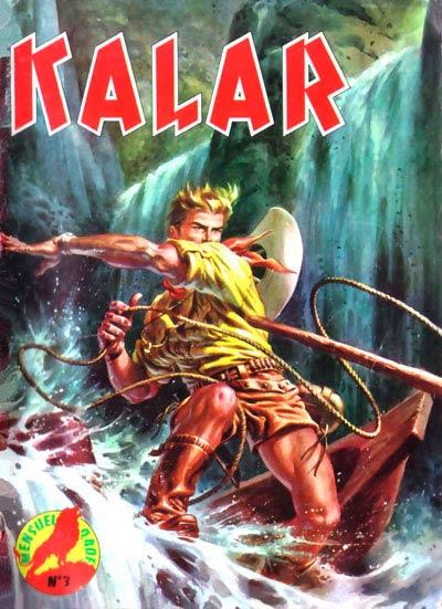 Couverture de Kalar -3- Le maître des gorilles