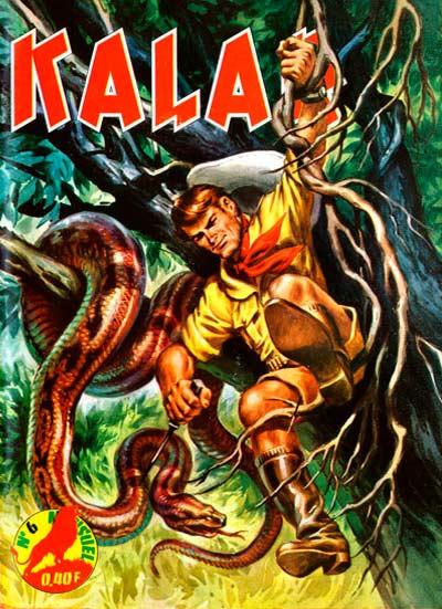 Couverture de Kalar -6- Le monstre de la jungle