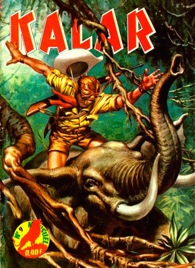 Couverture de Kalar -9- La révolte des éléphants