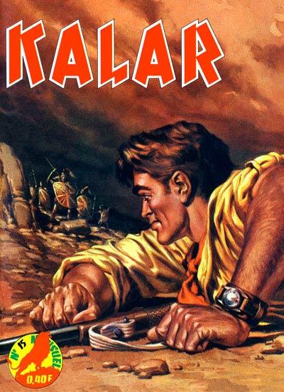 Couverture de Kalar -15- L'ombre du monde perdu