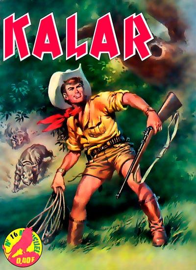 Couverture de Kalar -16- Le grand léopard