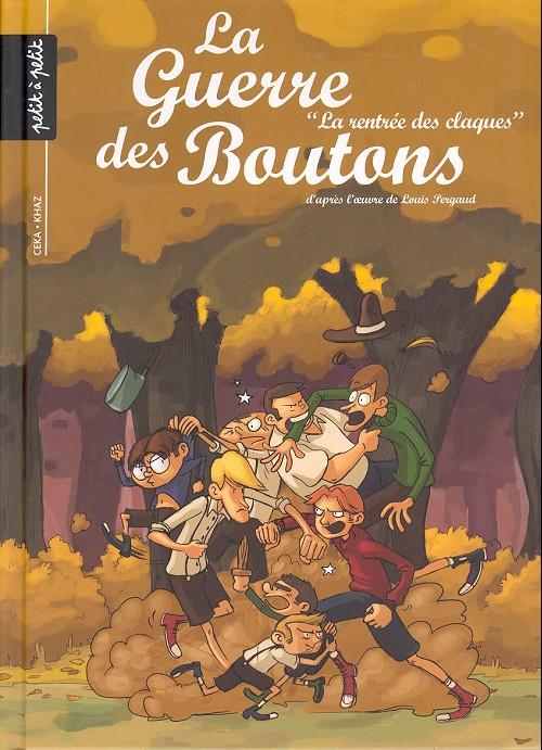 Couverture de La guerre des Boutons (Vernay/Khaz) -4- La rentrée des claques