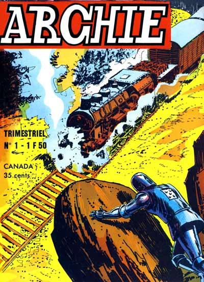 Couverture de Archie (Jeunesse et Vacances) -1- Archie, le merveilleux robot