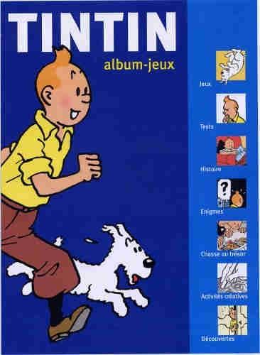 Couverture de Tintin - Divers -AJ1- Album-jeux 1