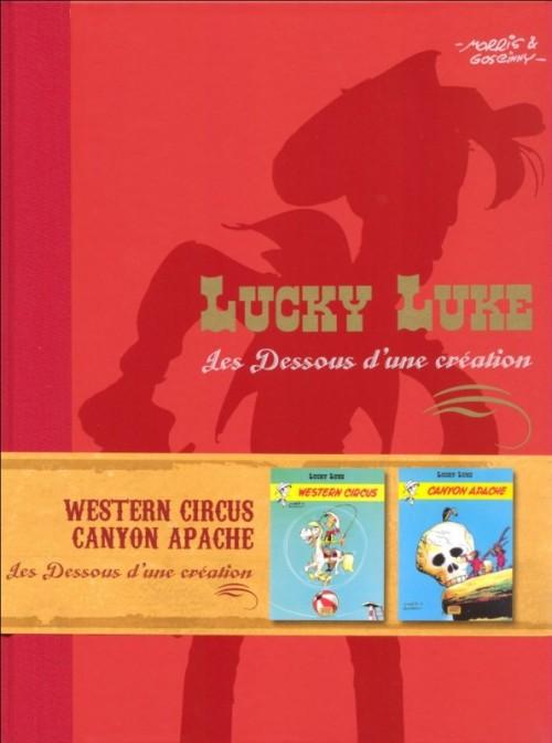 Couverture de Lucky Luke - Les Dessous d'une création (Atlas) -5- Western Circus / Canyon Apache