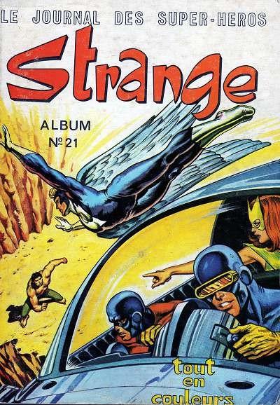 Couverture de Strange -Rec021- Album N°21 (du n°62 au n°64)