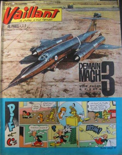 Couverture de Vaillant (le journal le plus captivant) -931- Vaillant
