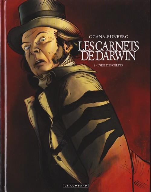 Couverture de Les carnets de Darwin -1- L'Œil des Celtes