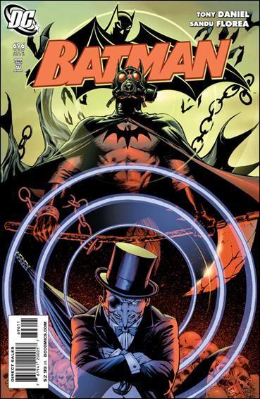 Couverture de Batman Vol.1 (DC Comics - 1940) -696- Life after death part 5 : mind games