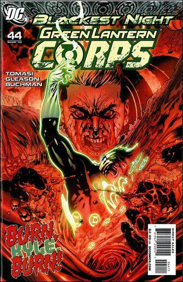 Couverture de Green Lantern Corps (2006) -44- Red badge of rage part 2