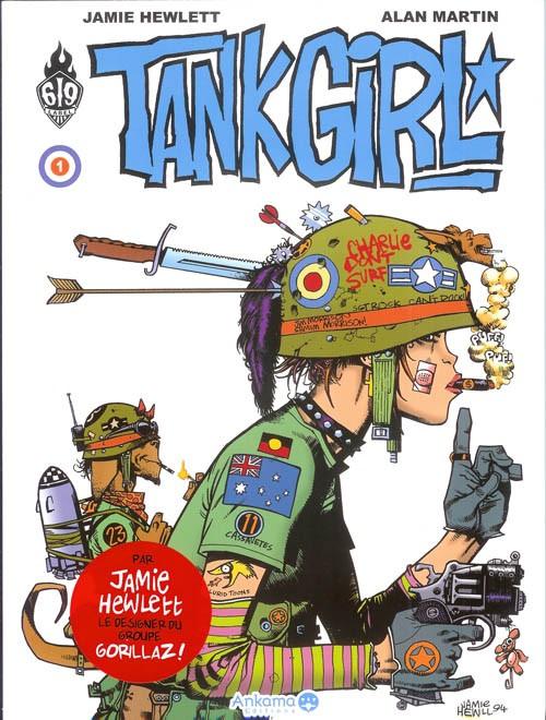 Couverture de Tank Girl -1- Tome 1