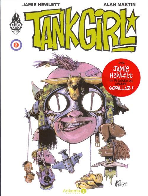 Couverture de Tank Girl -2- Tome 2