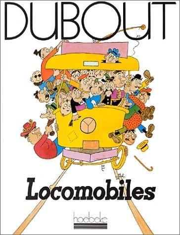 Couverture de (AUT) Dubout - Locomobiles