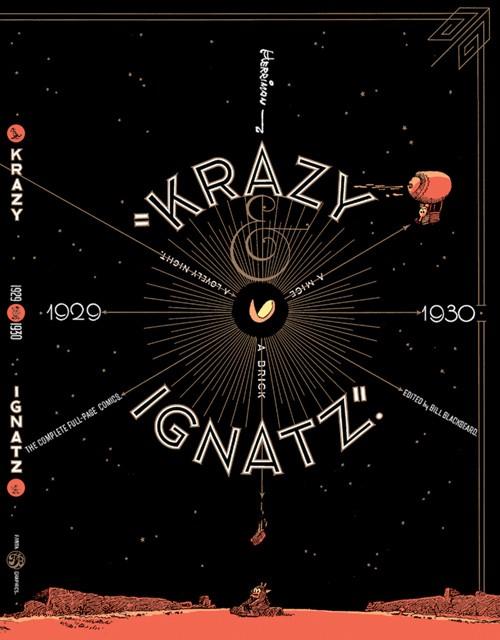 Couverture de Krazy & Ignatz (2002) -INT06- 1929-1930: A Mice, a Brick, a Lovely Night